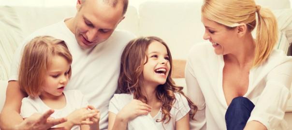 Couple marié avec enfants